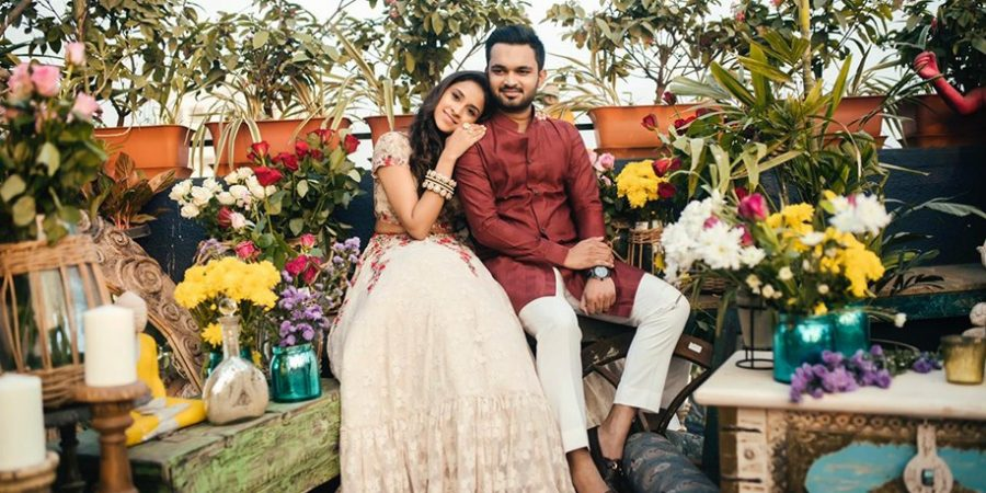 Get inspired by the myriad moods of this offbeat indoor Prewedding photoshoot