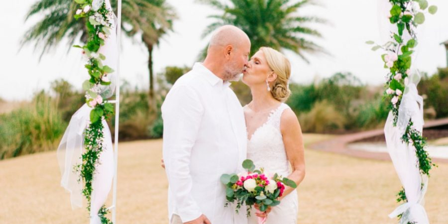 Intimate Private Residence Beach Wedding in South Carolina