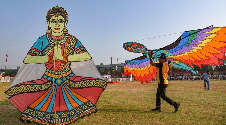 Makar Sankranti 2020: Revellers fly kites, paint the sky with vibrant colours