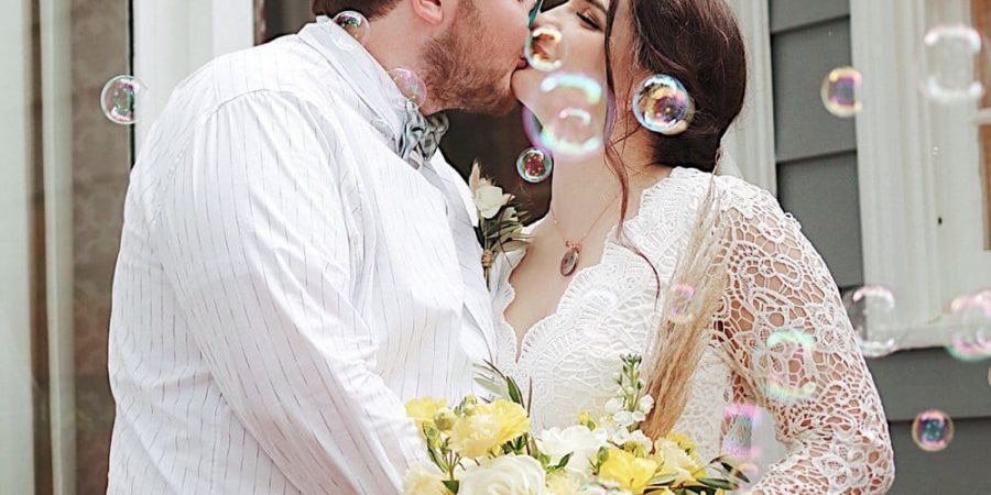 DIY Backyard Wedding in Georgia for $1500