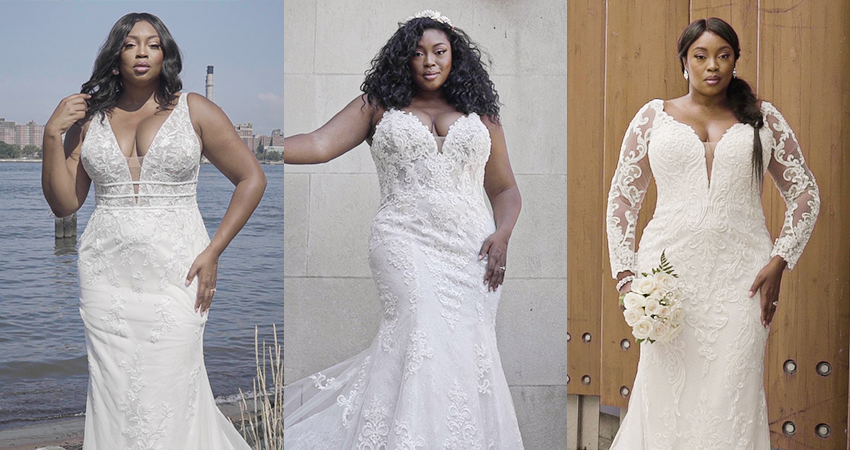 Sneak a Peek of Our New Curvy Wedding Dresses for Spring 2021