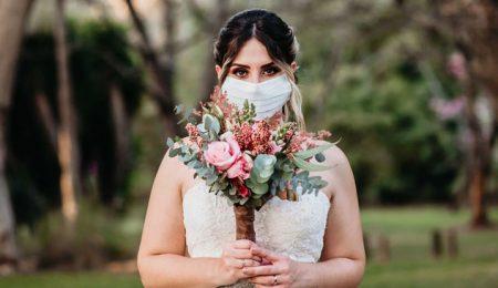 Something Blue: Bridal Face Mask Edition - Modern Wedding
