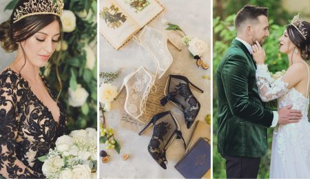 Lux Spring Wedding Blog Header