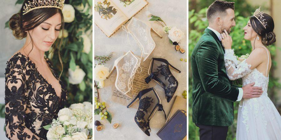 Lux Spring Wedding Blog Header