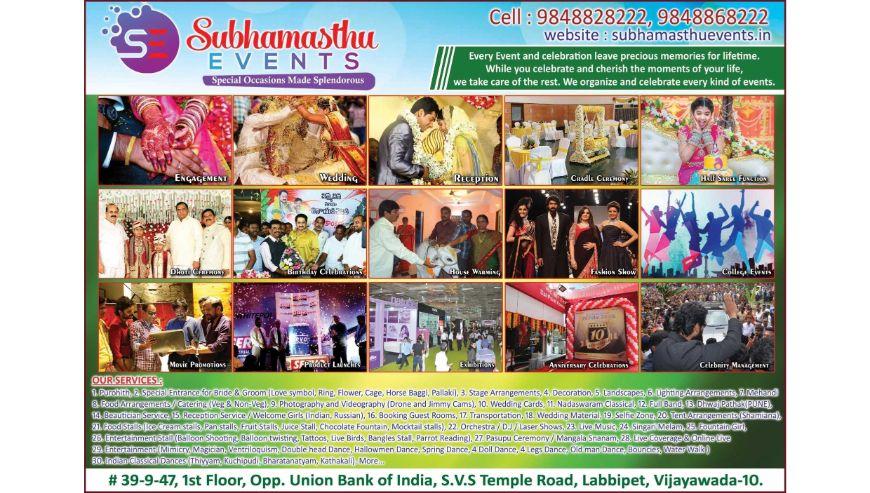 Subhamasthu-Events